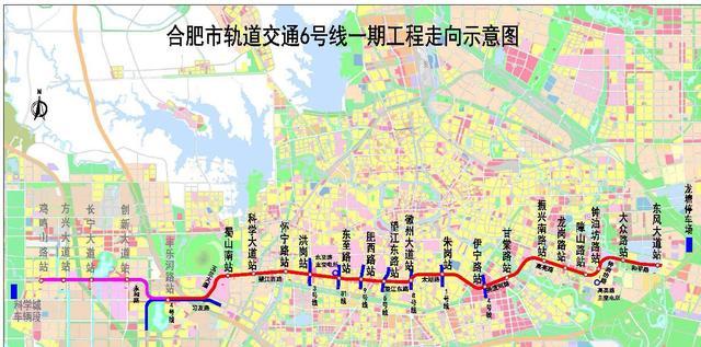 s1合肥地铁线路图