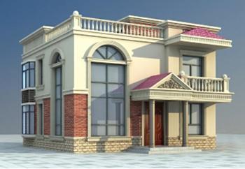 二层农村平房屋设计图