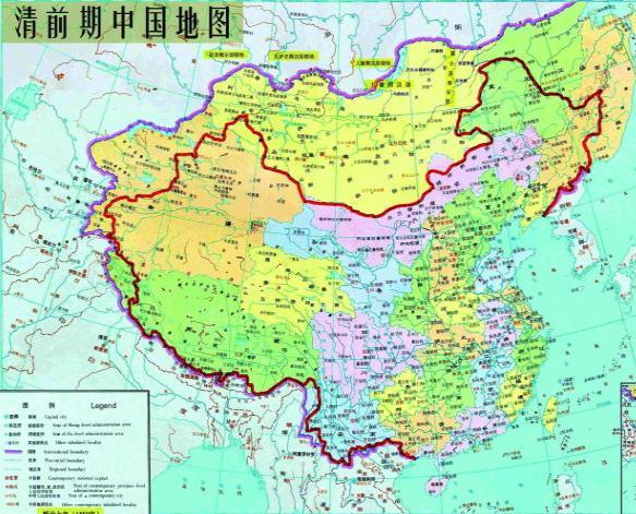 北宋时期地图全图