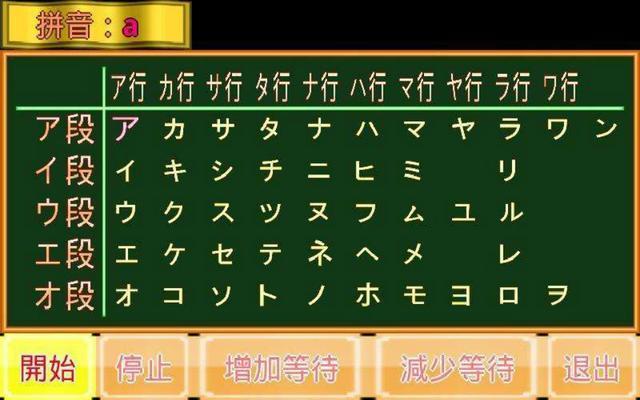 【日语学习】发音入门基础:50音图