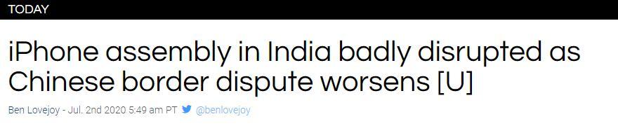 扛不住了!印度开始清关中国货物