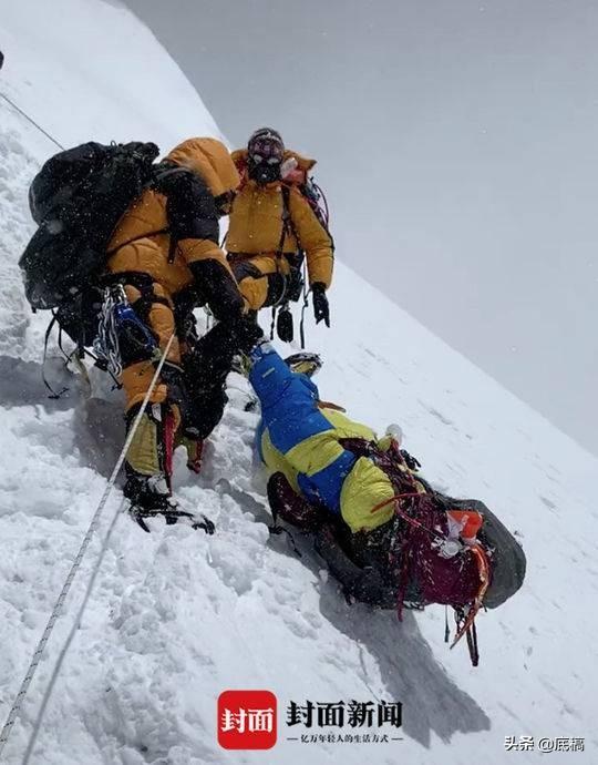 37岁男孩攀珠峰