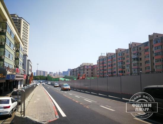 长春长惠桥封闭施工 给地铁施工让路?