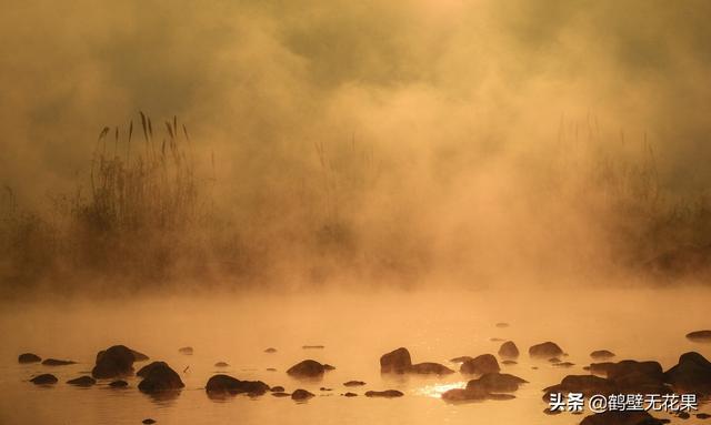 这里有一条会冒烟的河流,每到冬天热气腾腾,整条河像开了锅一样