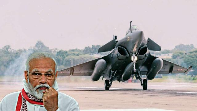 印度全国欢呼神机到来,高呼对抗巴基斯坦和歼20,法国高兴不起来