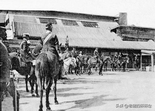 实拍1900年八国联军攻入紫禁城阅兵的屈辱史