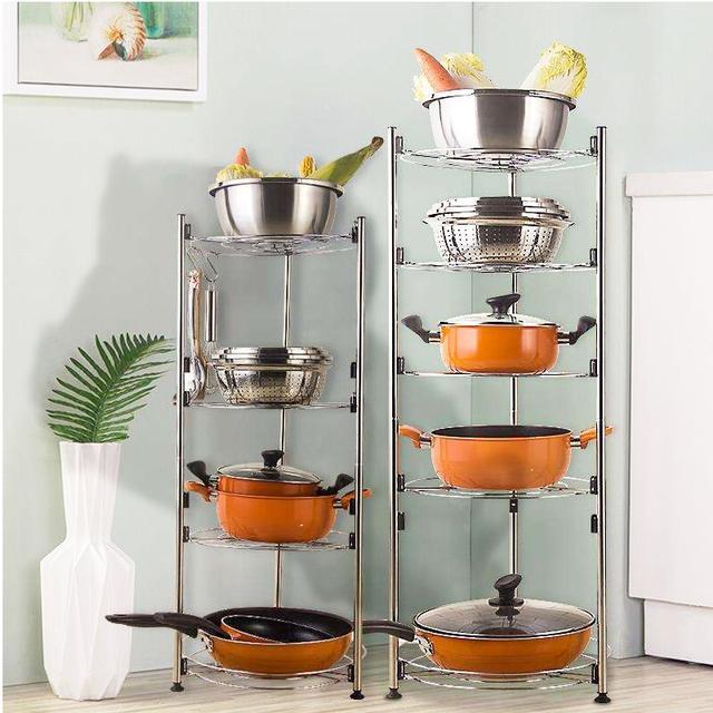 厨房不锈钢多用置物架