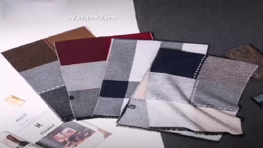 男士格子围巾教程7,详细的教学讲解,你懂了吗_腾讯网