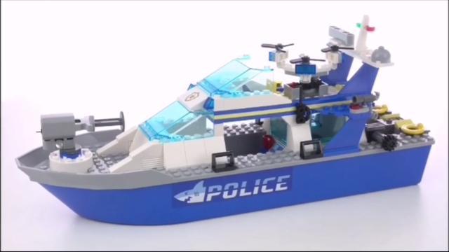 乐高积木拼装图纸船
