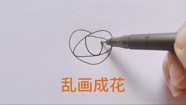 干货!难得一见的玫瑰白描线稿,简单易学,学会画玫瑰线稿很简单