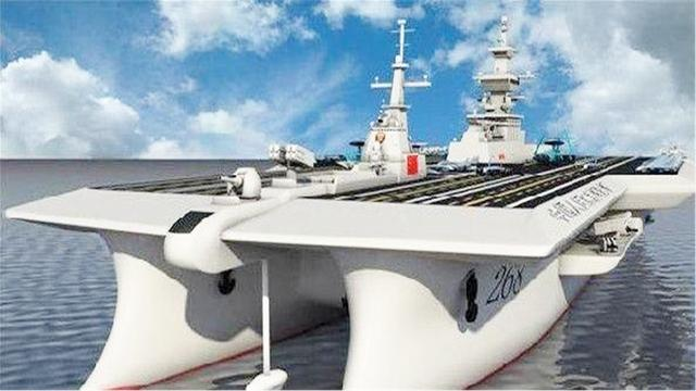 十八万吨的双船体航母是什么鬼? 中国未来真的会建造吗?_网易新闻
