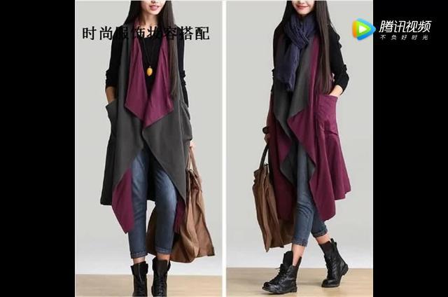韩版时尚大码女装风衣🧥