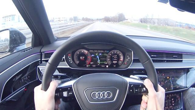 穿越到未来 试驾新一代奥迪A8