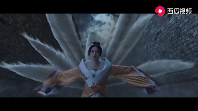姜子牙大战⻣妖和九尾狐