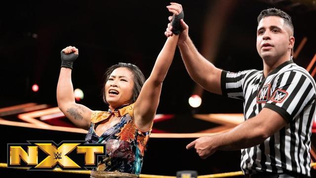 NXT544:中国女将李霞迎战女子上绳赛 争夺NXT女子冠军挑战机会