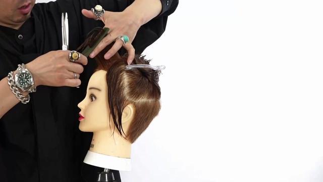 女发长发层次剪发技巧_长发发型_西子美发网