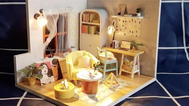 手工小屋的制作方法
