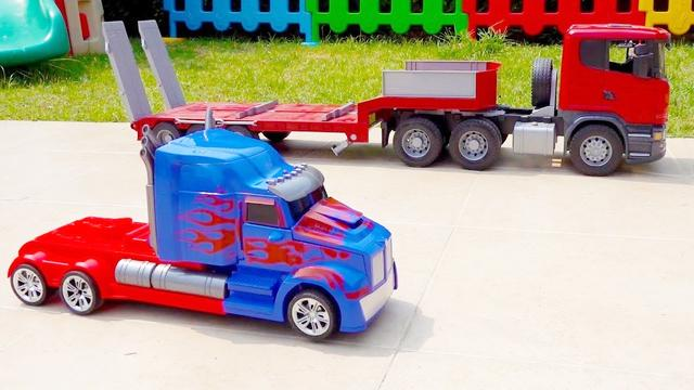 儿童玩具大货车