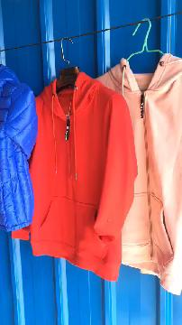 加绒卫衣开衫外套,男女同款。版型正,质量看的见