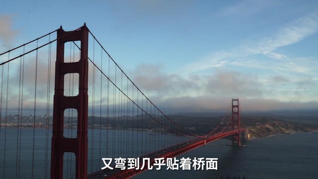 实拍金门大桥——位于美国的旧金山,它是旧金山的骄傲与标志