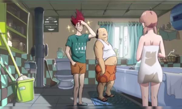两男一女在浴室会发生什么有趣的事情呢?