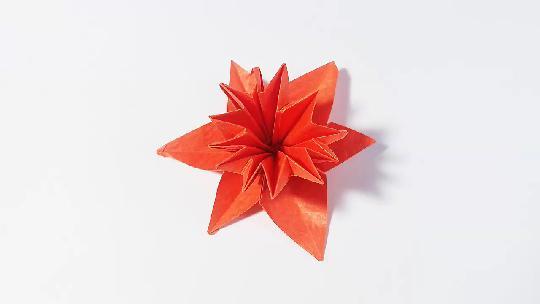 #手工大师赛#折纸七色花,简单易学,儿童很喜欢