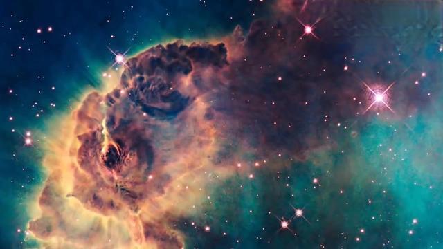 哈勃望远镜下的地球