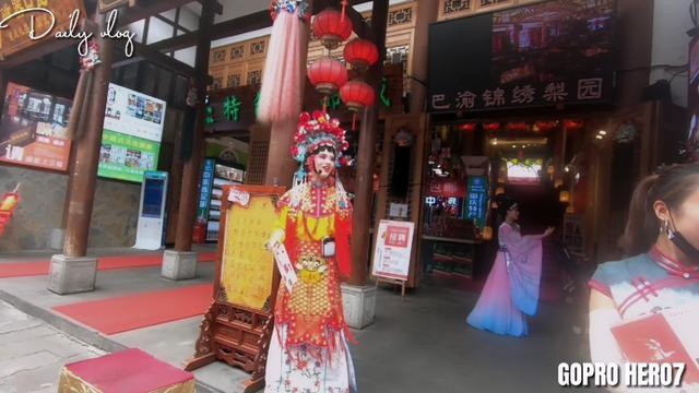 重庆千年古镇磁器口再现中秋祭月祈福活动