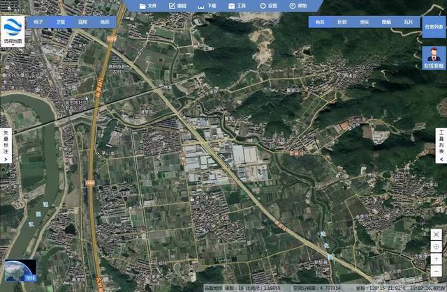 如何下载谷歌卫星地图(墨卡托 无偏移)