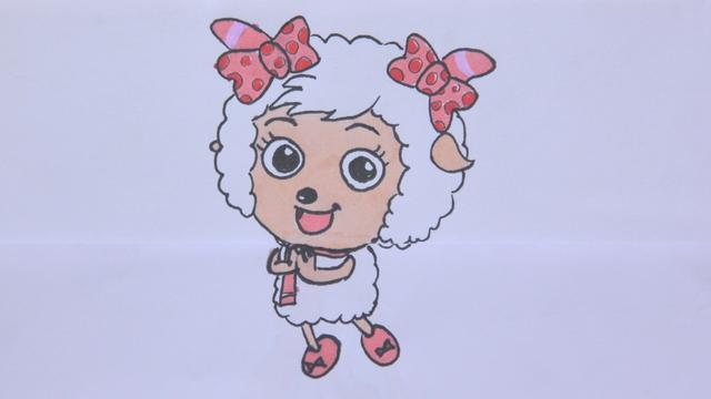 喜羊羊美羊羊接吻漫画