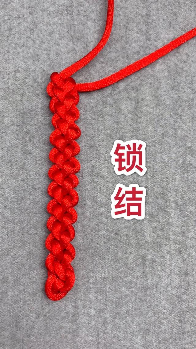 ...末教大家一款时尚简单实用好看的手绳编织手链方法!_网易视频