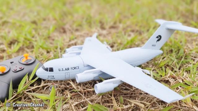 易拉罐制作遥控直升机,有这动手能力,都不用给小孩子买玩具了