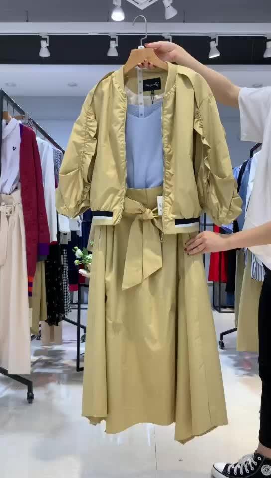 大码女装【宝莱国际】羽绒服 老年款 适合... -女装品牌尾货批发