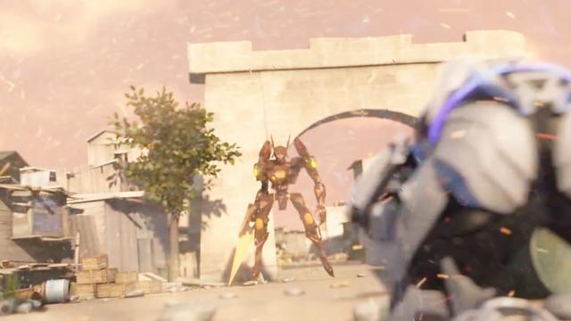 纳米核心:托瑞斯醒了,第一件事让海拉拔掉水晶,这是长官的命令