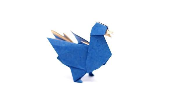 跟我学幼儿园亲子手工折纸-小鸭子_手机搜狐网
