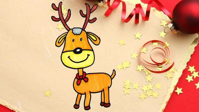 圣诞鹿图片-圣诞鹿图片素材免费下载-千库网