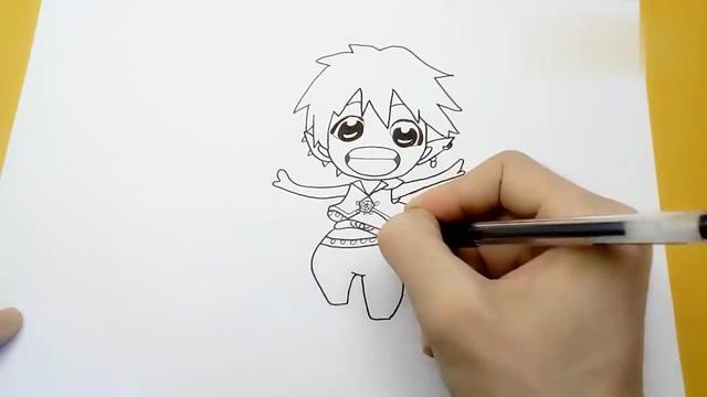 小马宝莉简笔画