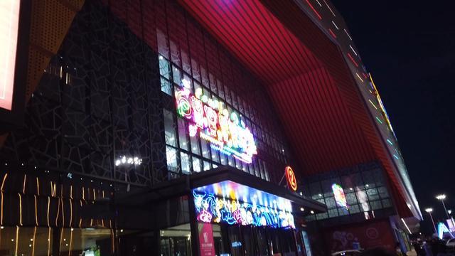 2020年11月14日吉林市万达广场的车展