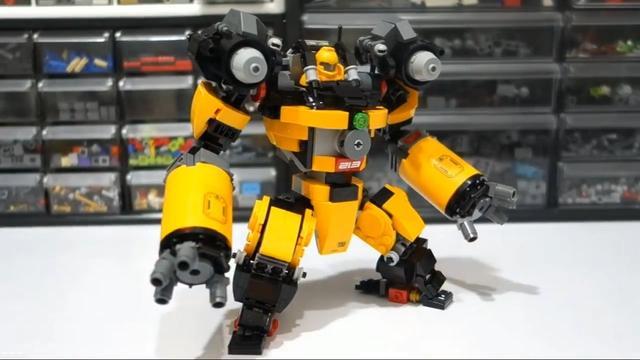 乐高积木拼装变形金刚玩具 G1禁闭_网易视频