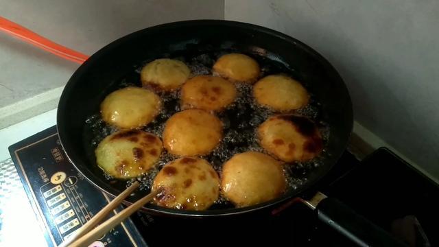 烫面红薯油糕做法视频
