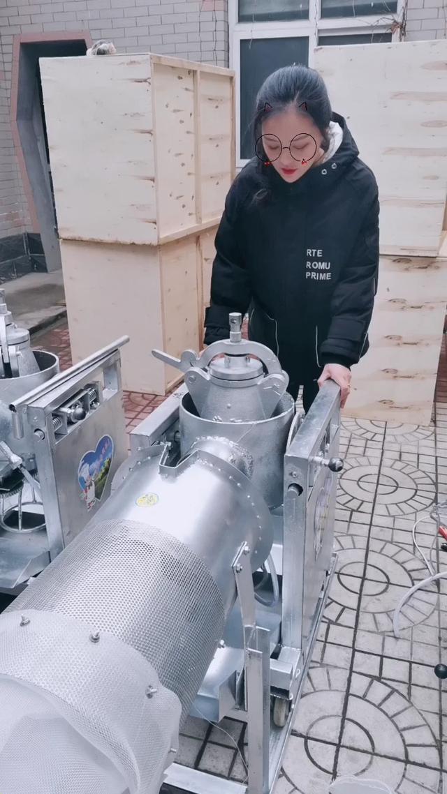 大炮式电动爆米花机,自动爆米花机18132901670