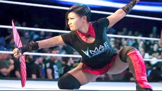 WWE首位中国女将李霞,身材颜值超美,想把中国功夫带上WWE舞台