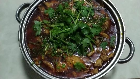 家常菜水煮鱼