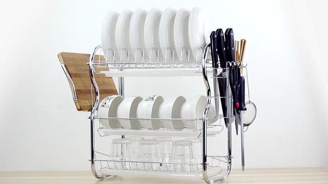 可折叠沥水架水槽上方收纳架碗碟架厨房洗碗池放碗架沥水篮置物架