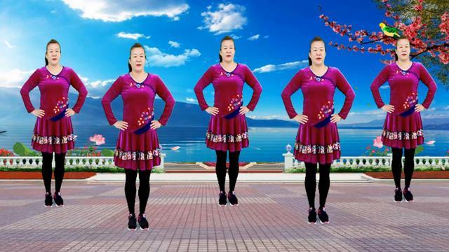张北北经典情歌《拥抱你离去》广场舞32步,超级简单!