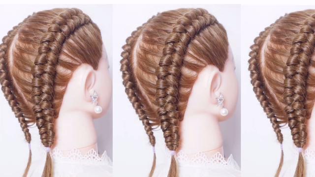 酷女孩必备的拳击辫短发版୧(๑•̀◡•́๑)૭ _... -bilibili