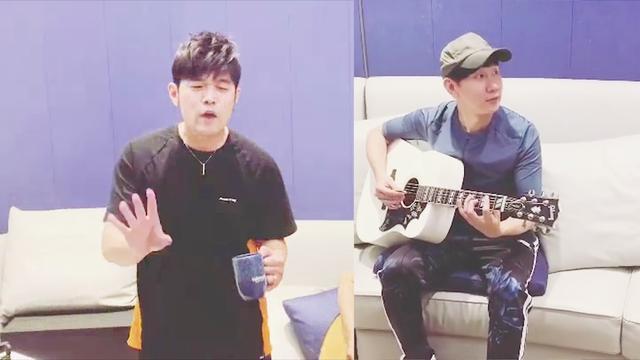 周杰伦x林俊杰同框即兴演唱 网友:随便唱随便好听