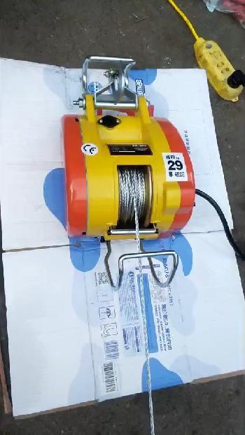简述微型电动葫芦的用途及特点