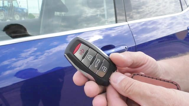 长城哈弗H6运动版智能钥匙更换电池DIY作业