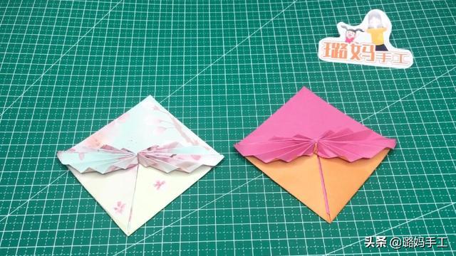 一根彩带蝴蝶结的折法